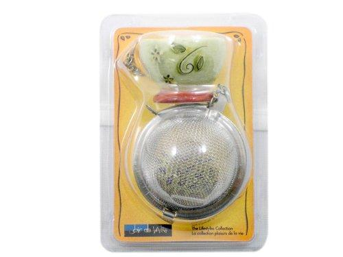 Jo!e Jasmine Teapot Tea Infuser Ball- Loose Tea Infuser for One Cup - Olde Church Emporium