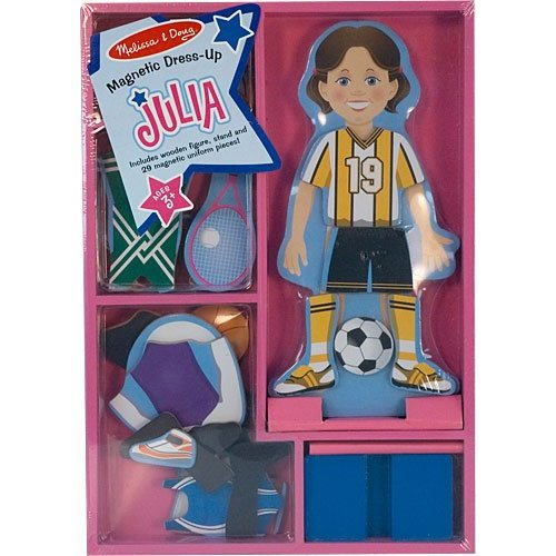 Melissa and Doug - Julia Wooden Magnetic Dress Up [Home Decor]- Olde Church Emporium