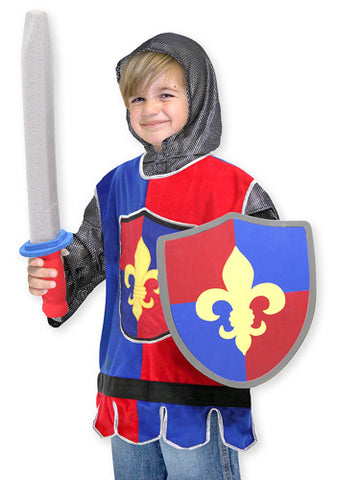 Knight Role Play Costume Set 3 to 6 years old