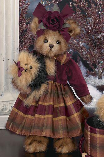 Bearington - Keri & Teri Collectible Bear - 14 Inches and Retired 2007 TOBY Award Winner - Olde Church Emporium