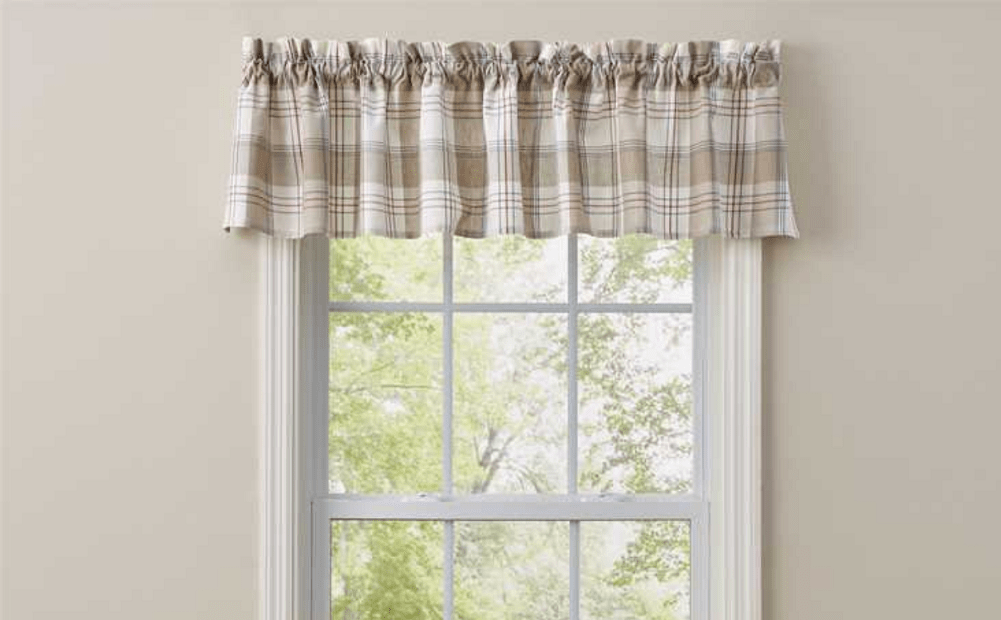 Park Design Landen Curtain Unlined Valance 72 x 14 Inches