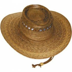 Outback Lattice Hat with Cotton Foam Sweatband - Unisex
