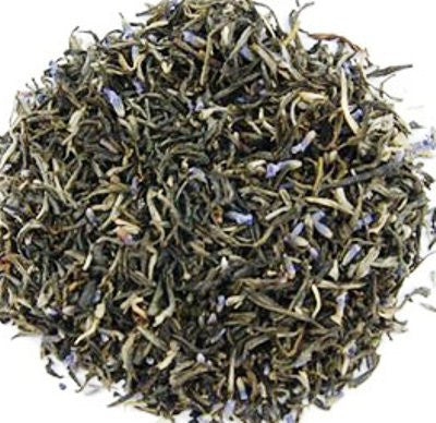Lavender Butterfly Loose Green Tea - Loose Green Tea