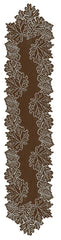 Heritage Lace Leaf Collection - Placemats, Runners, etc 3 Colors