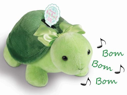 Tiggles the Turtle Musical Bank by Bearington - Olde Church Emporium
