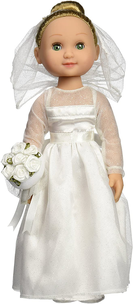 "Melissa & Doug Lindsay - 14"" Bride Doll Poseable - Olde Church Emporium"