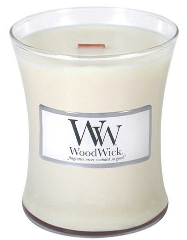 WoodWick Candle -Linen - 2 sizes