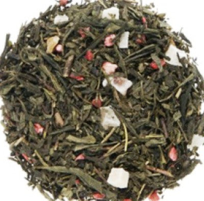 Long Island Strawberry Loose Green Tea -  Loose Green Tea [Home Decor]- Olde Church Emporium
