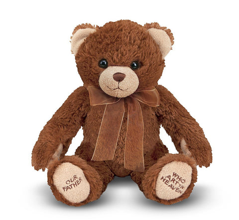Melissa & Doug -  Lord's Prayer Bear  Stuffed Animal With Sound Effects
