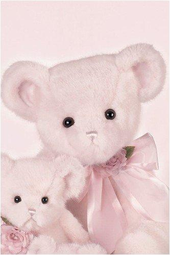 "Bearington - Award Winning Giant Pink Bear "" Mama Blush"" - 30 Inches and Retired - Olde Church Emporium"
