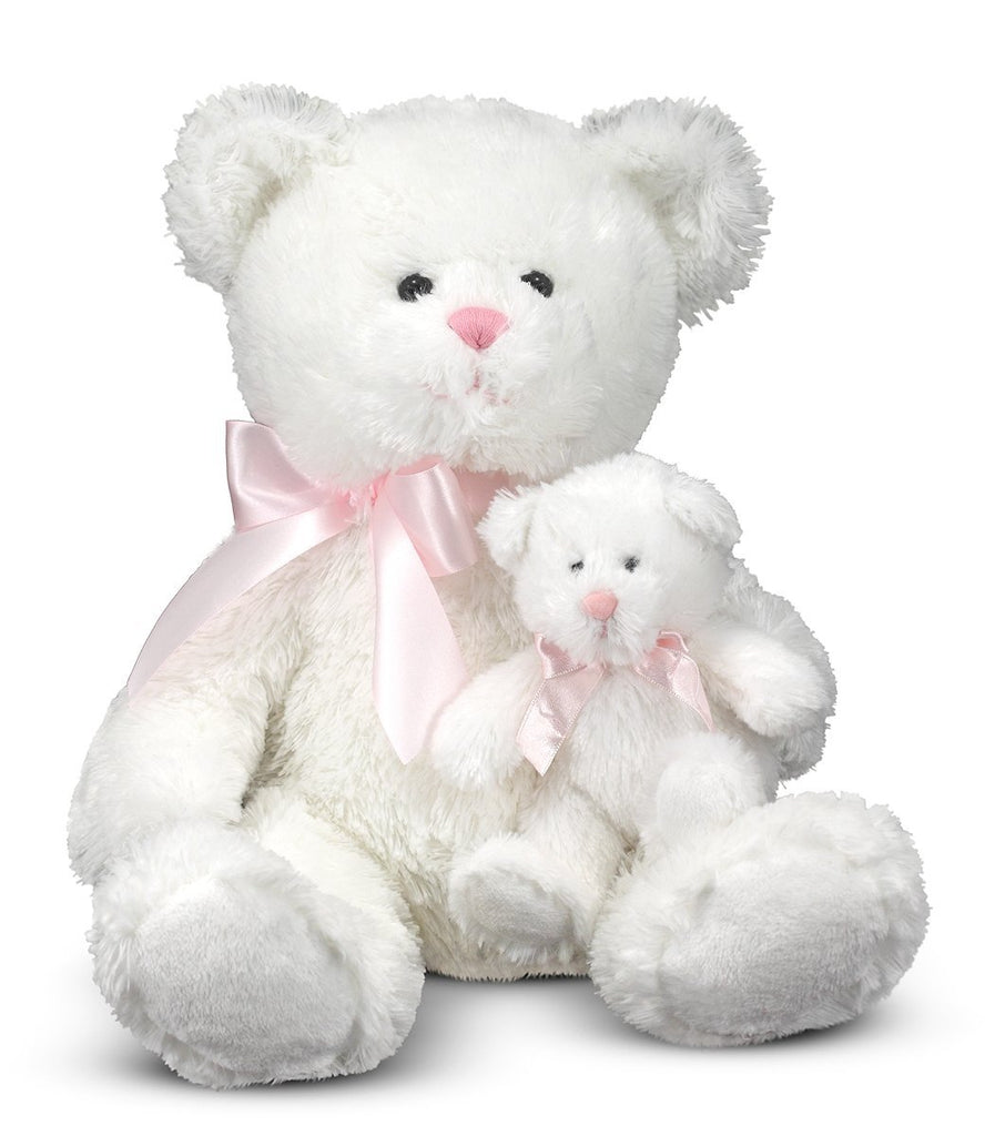 Melissa & Doug - Marsh & Mallow - Mother & Baby Bear 20 Inches [Home Decor]- Olde Church Emporium