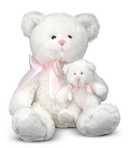 Melissa & Doug - Marsh & Mallow - Mother & Baby Bear 20 Inches