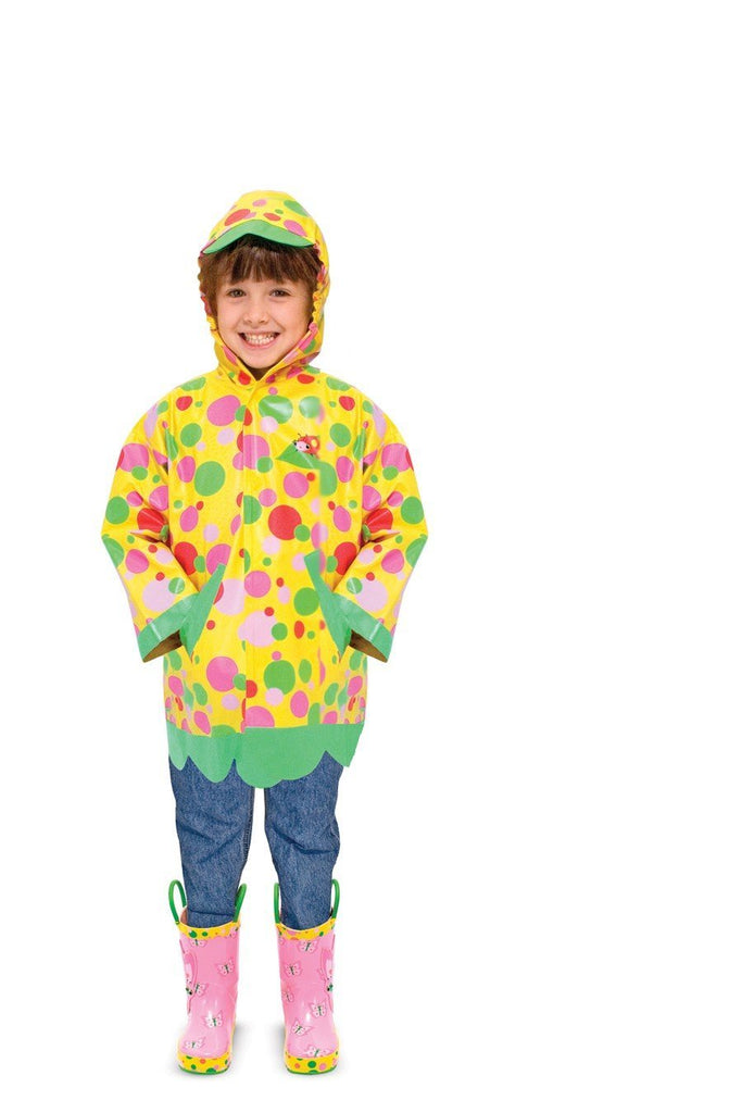 Melissa & Doug - Sunny Patch Mollie and Bollie Raincoat Ages 3 - 6 Yrs [Home Decor]- Olde Church Emporium