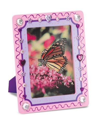 Melissa & Doug Picture Frame - wooden Decorate-Your-Own Kit 5 x 7 inches photos