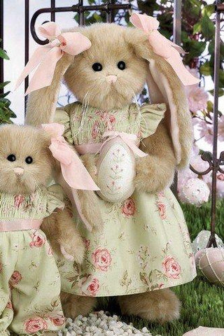 "Bearington Bears Maisie the 14"" Easter Plush Bunny Rabbit Retired Collectible"