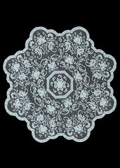 Heritage Lace Medallion Collection -Table Toppers Made in USA - Olde Church Emporium