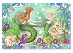 Melissa & Doug Mermaid Playground Floor Puzzle - Olde Church Emporium
