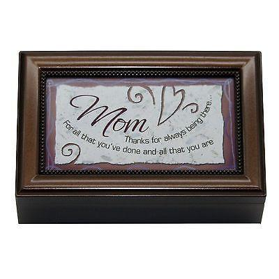Mom Decorative Music Box Mothers Day Gift for Mom - Christmas, Birthday, Anniversary