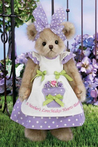 Bearington Bears - Mommy Bloominglove Plush Teddy Bear 14 Inches and Retired - Olde Church Emporium
