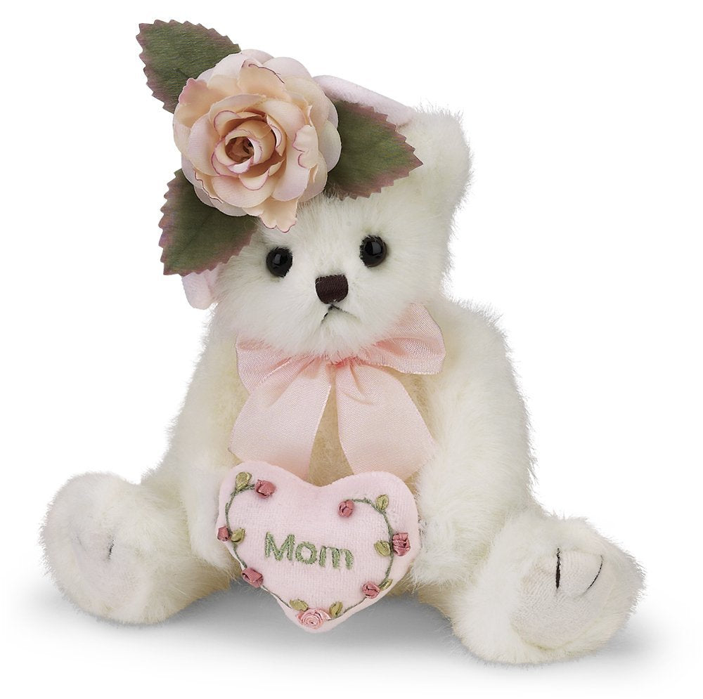 "Bearington - Mommy Tenderheart Bear for Mom Mother's  -  10"" Inches - Olde Church Emporium"