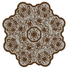 Heritage Lace Medallion Collection -Table Toppers Made in USA