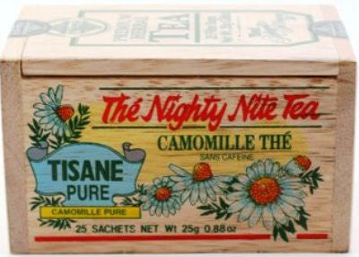 Nighty Nite Tea bags - 25 in Wooden Box [Home Decor]- Olde Church Emporium