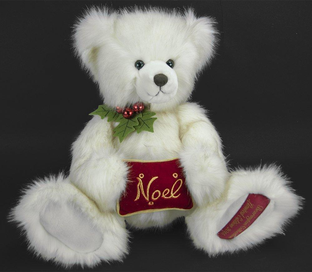 "Bearington - 2015 Limited Edition Christmas Bear ""Sir Beary Noel"" - 18 Inches and Retired - Olde Church Emporium"