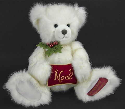 "Bearington - 2015 Limited Edition Christmas Bear ""Sir Beary Noel"" - 18 Inches and Retired"