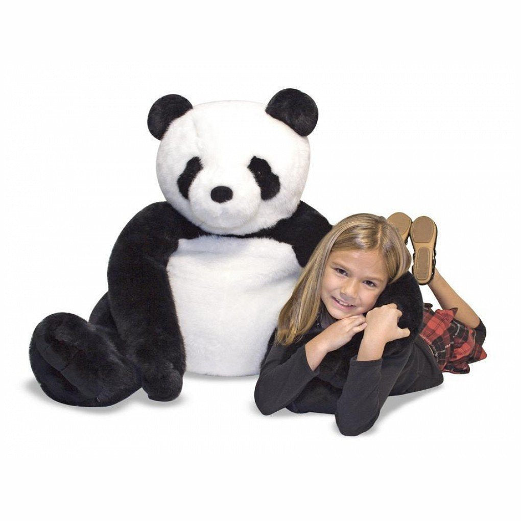 Melissa and Doug - Giant Panda Life Like and Cuddly Stuffed Animal [Home Decor]- Olde Church Emporium
