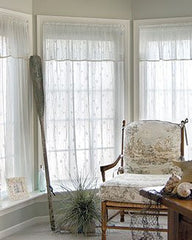 Heritage Lace Sand Shell Collection - Curtains, Runners, Material, etc [Home Decor]- Olde Church Emporium