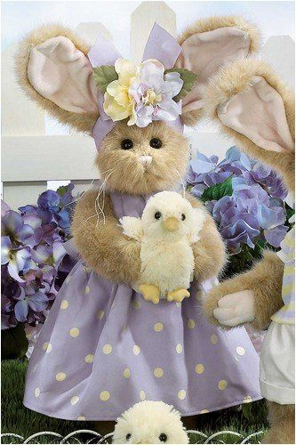 Bearington Patsy and Pepper 14 Inch Bunny Bear and Chick Retired Collectible - Olde Church Emporium