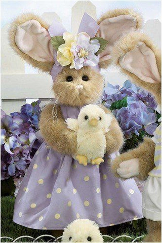 Bearington Patsy and Pepper 14 Inch Bunny Bear and Chick Retired Collectible