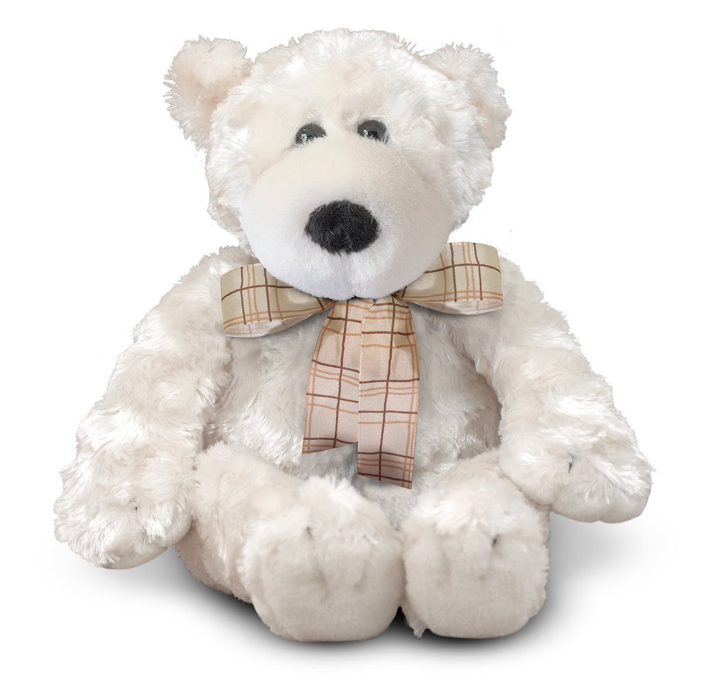 Melissa & Doug - Parka Soft and Cuddly Polar Bear [Home Decor]- Olde Church Emporium