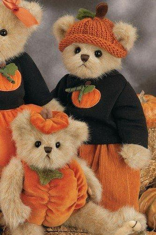 Bearington - Autum Fall Halloween Bear Parker Pumpkinpatch  - 14 Inches and Retired