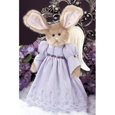 Bearington Purity Angel Bunny - Easter Bunny 14 Inch Retired