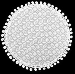 Heritage Lace Prima Collection - Doilies, Runners,Table Toppers White