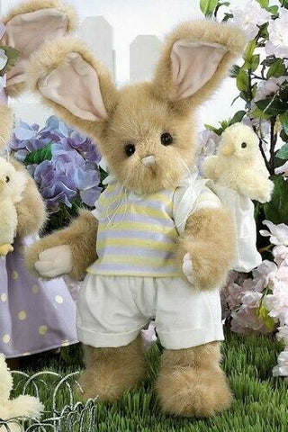 Bearington Peter & Peeper 14 Inches  Collectible Easter Rabbit Retired