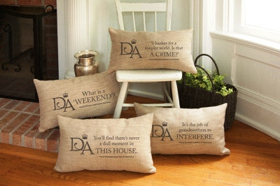Downton Abbey - Violet's Pillows - Downton Abbey Collection