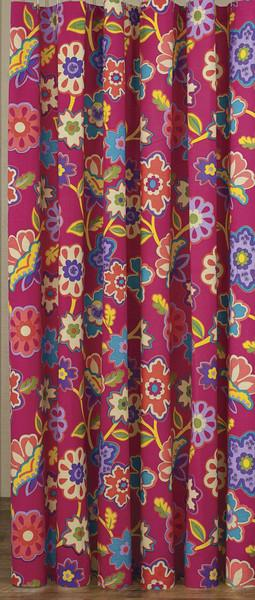 Park Designs Patio Party Shower Curtain 72 x 72 Inches Free Shipping - Olde Church Emporium