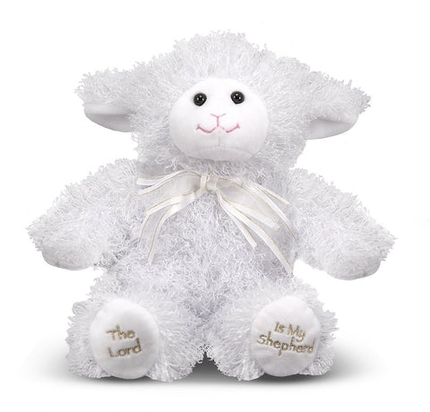 Melissa & Doug - 23rd Psalm Lamb Stuffed Animal With Sound Effects