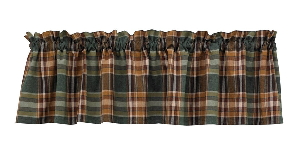 Park Designs Wood River Unlined Valance 72 x 14 Inches