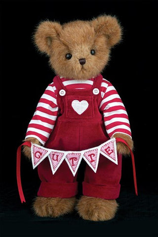 Bearington - Q. T. Pie Valentine Teddy Bear Stuffed Animal 14 Inches