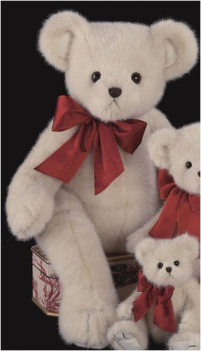 "Bearington - Giant White Holiday Bear ""Big Rascal"" - 30 Inches - Olde Church Emporium"