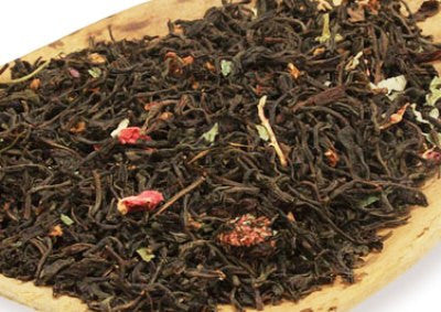 Raspberry Honey loose leaf tea - Raspberry Honey Flavored Black Tea
