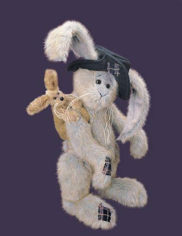 Bearington -  Rags & Bags Collectible Bear - 14 Inches and Retired