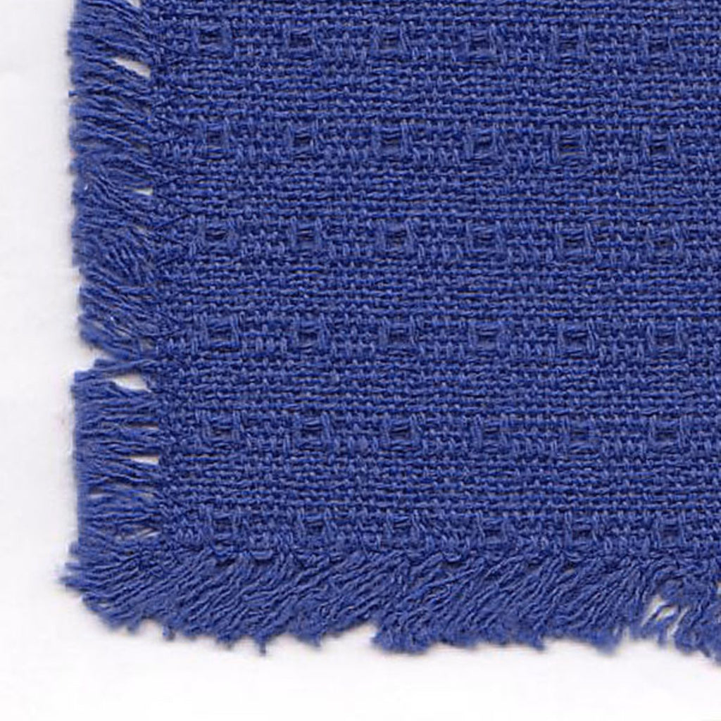 Homespun Tablecloth - Blue Solid - Tablecloths, Napkins, Runners, Placemats - Made in USA [Home Decor]- Olde Church Emporium