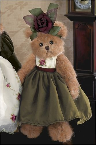 "Bearington - Collection Bear Rosie - 10"" Inches and Retired  (2008) - Olde Church Emporium"