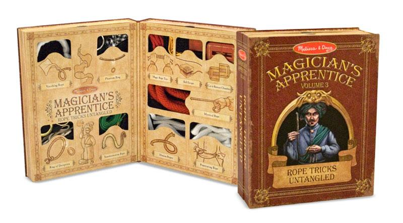 Melissa and Doug Magicians Apprentice Vol. 3 Rope Tricks Untangled - Olde Church Emporium