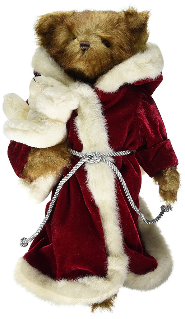 Bearington Bears - Santa and Snowflake Christmas Bear 16 Inches and Retired - Olde Church Emporium