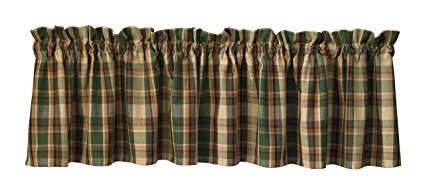 Park Designs - Scottish Pine Valance 72 by 14 Inches